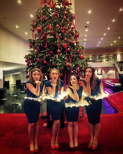 Meisjes met de wijsjes kerst original