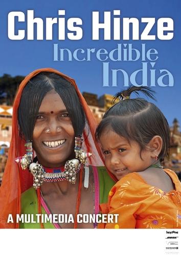 Chris hinze incredibleindia poster 600t original
